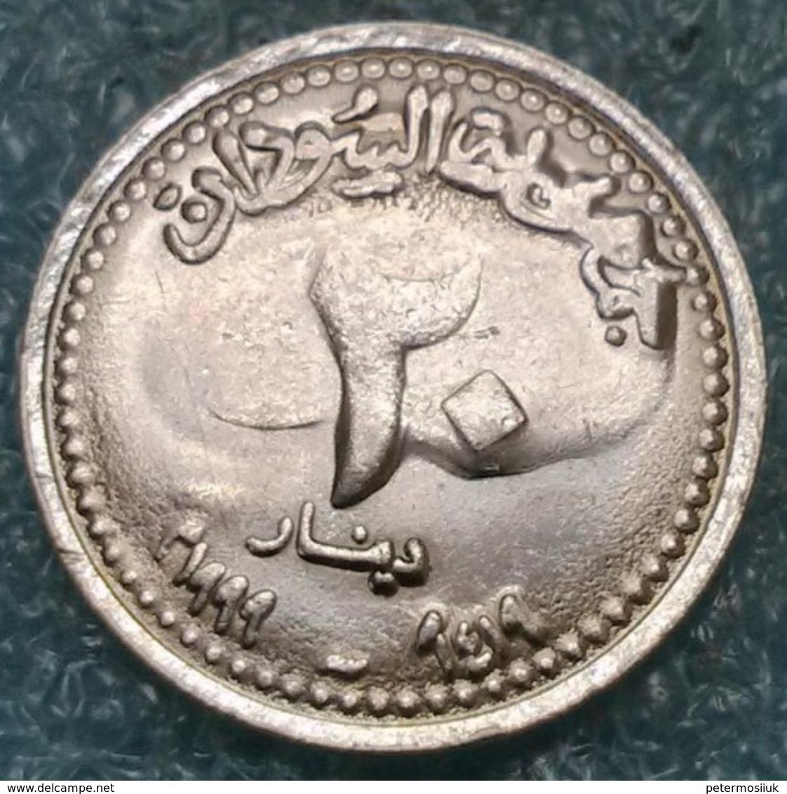 Sudan 20 Dinars, 1999 -4387 - Sudan