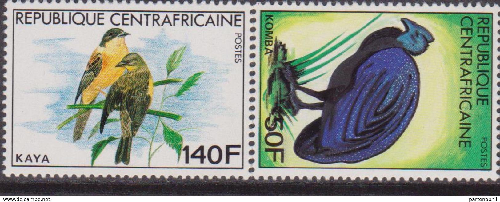 Rep. Centrafricaine - Uccelli Birds Set MNH - Repubblica Centroafricana