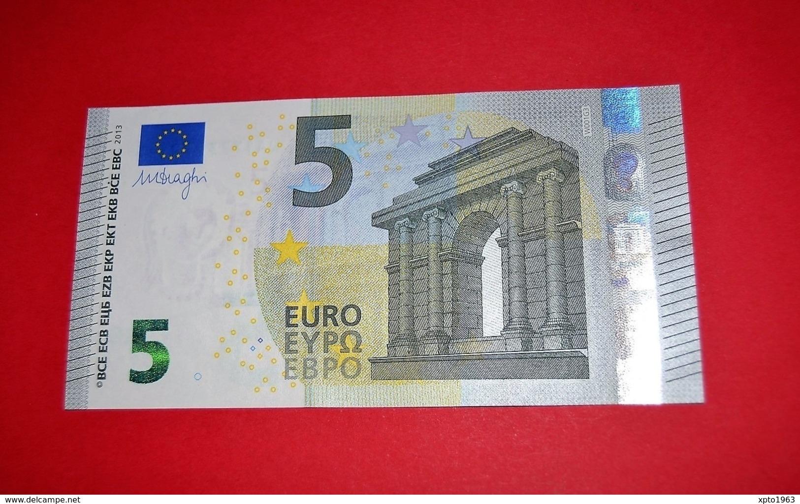 5 EURO W001G3 GERMANY W001 G3 - DRAGHI - WA1773972145 - NEUF FDS UNC - EURO