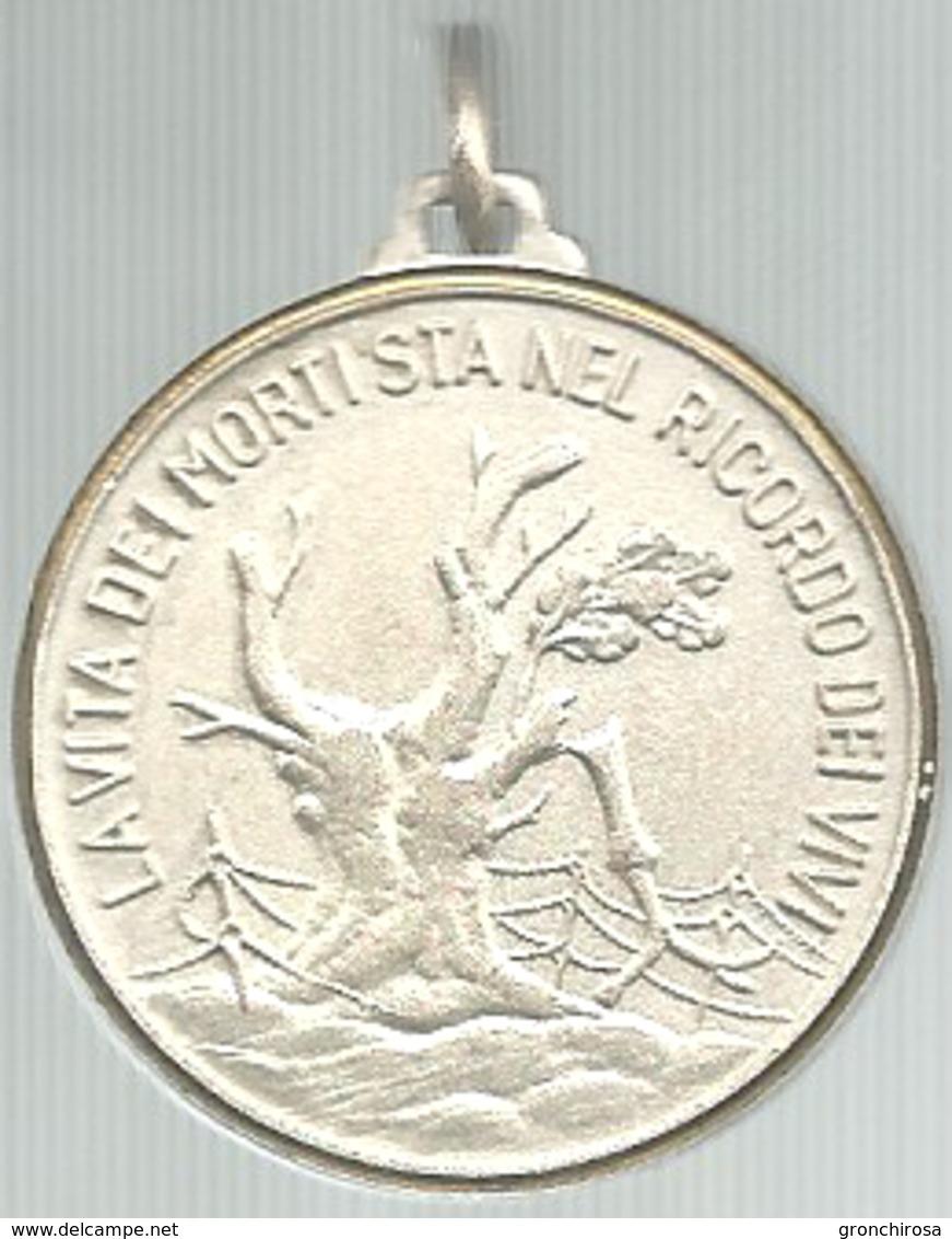 Roccaraso (Aq), Sacrario Caduti Senza Croce Scolta D'onore, Mist. Dorata Gr. 13, Cm. 3,2. - Altri