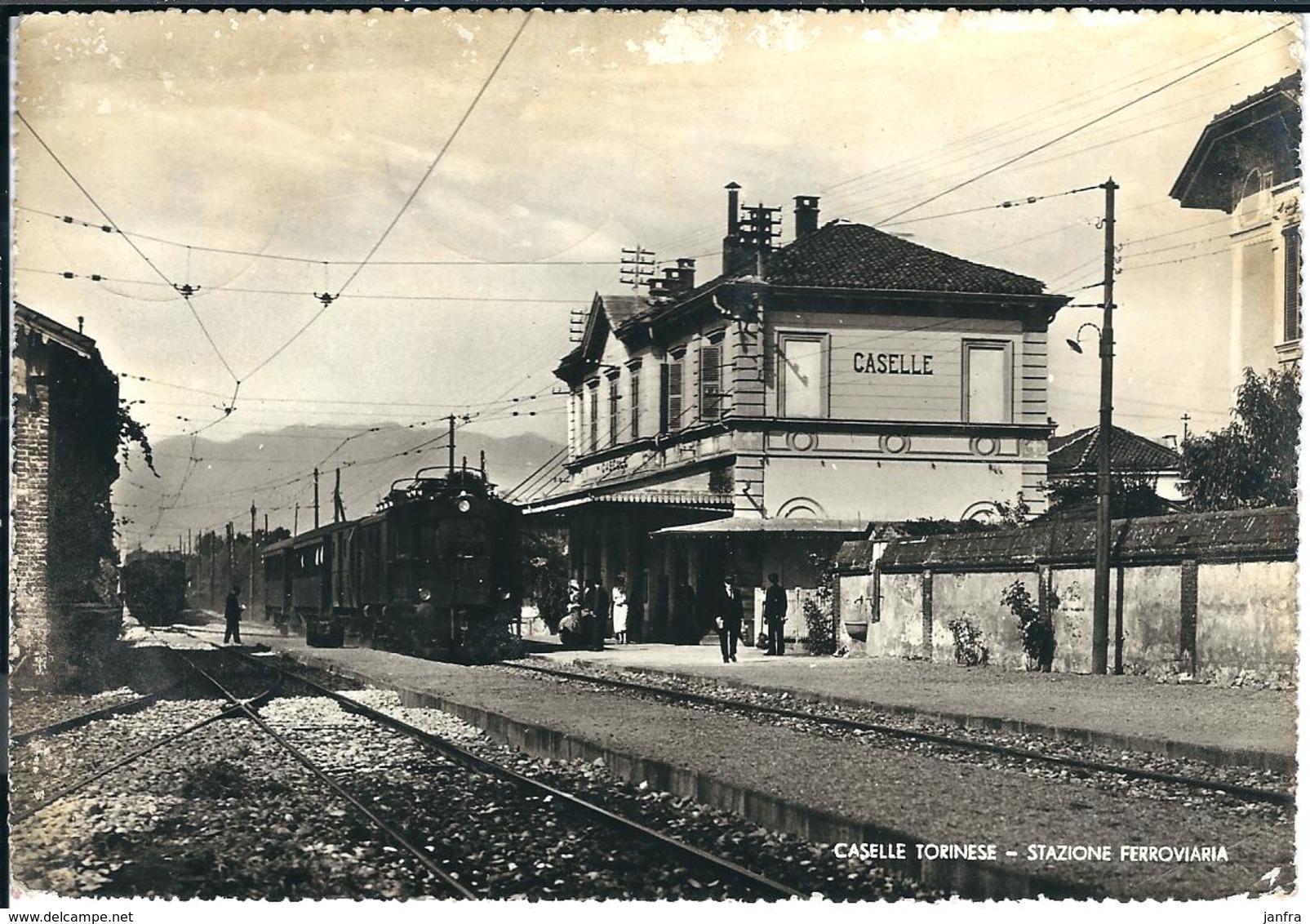 CASELLE TORINESE - STAZIONE FERROVIARIA - Trasporti
