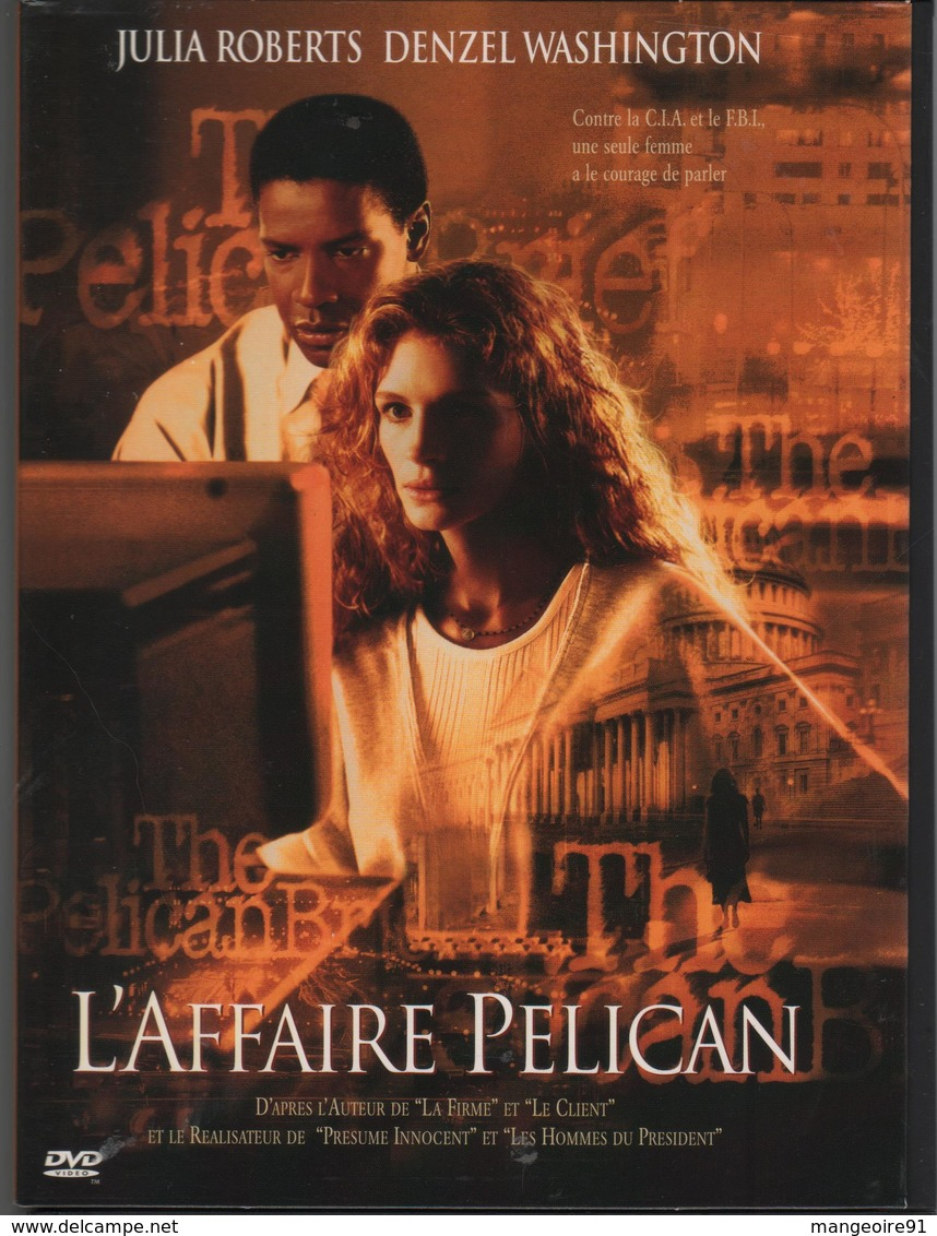 DVD Film L'AFFAIRE PELICAN Avec JULIA ROBERTS / DENZEL WASHINGTON - Policiers