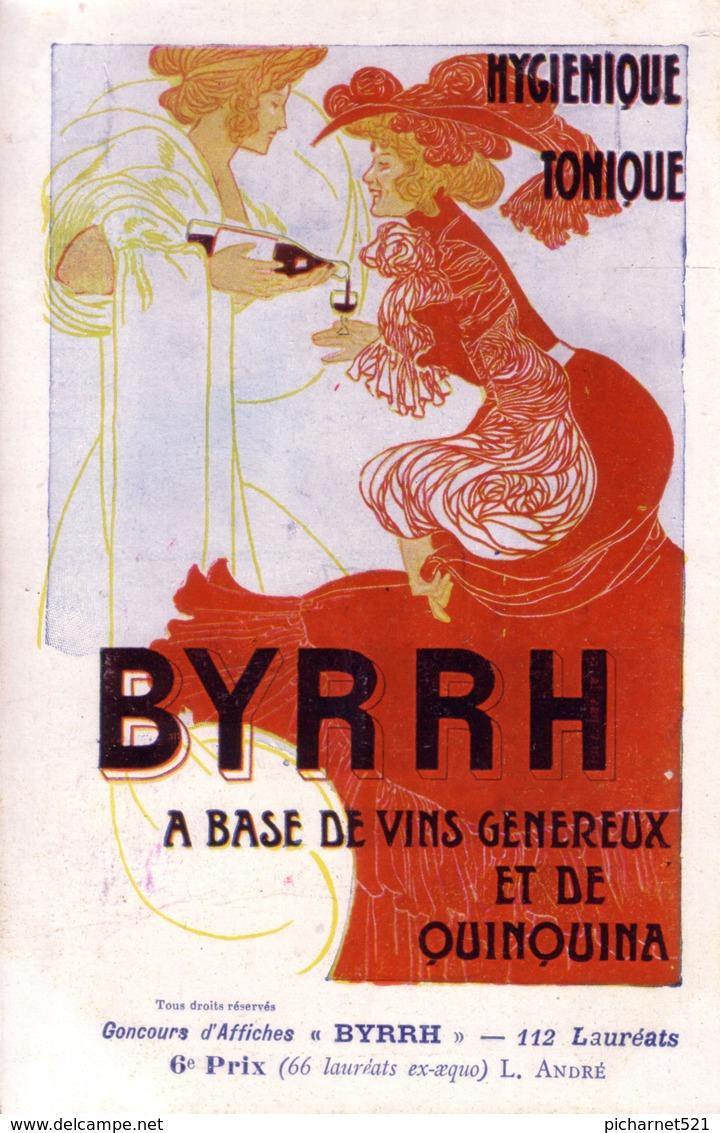 Concours D'affiches BYRRH. 6ème Prix. Illust. De L. ANDRE. Non Circulée. TB état. - Advertising