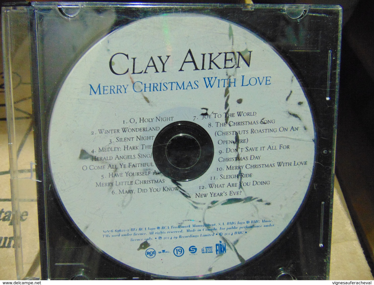 Clay Aiken- Merry Christmas With Love - Other - English Music