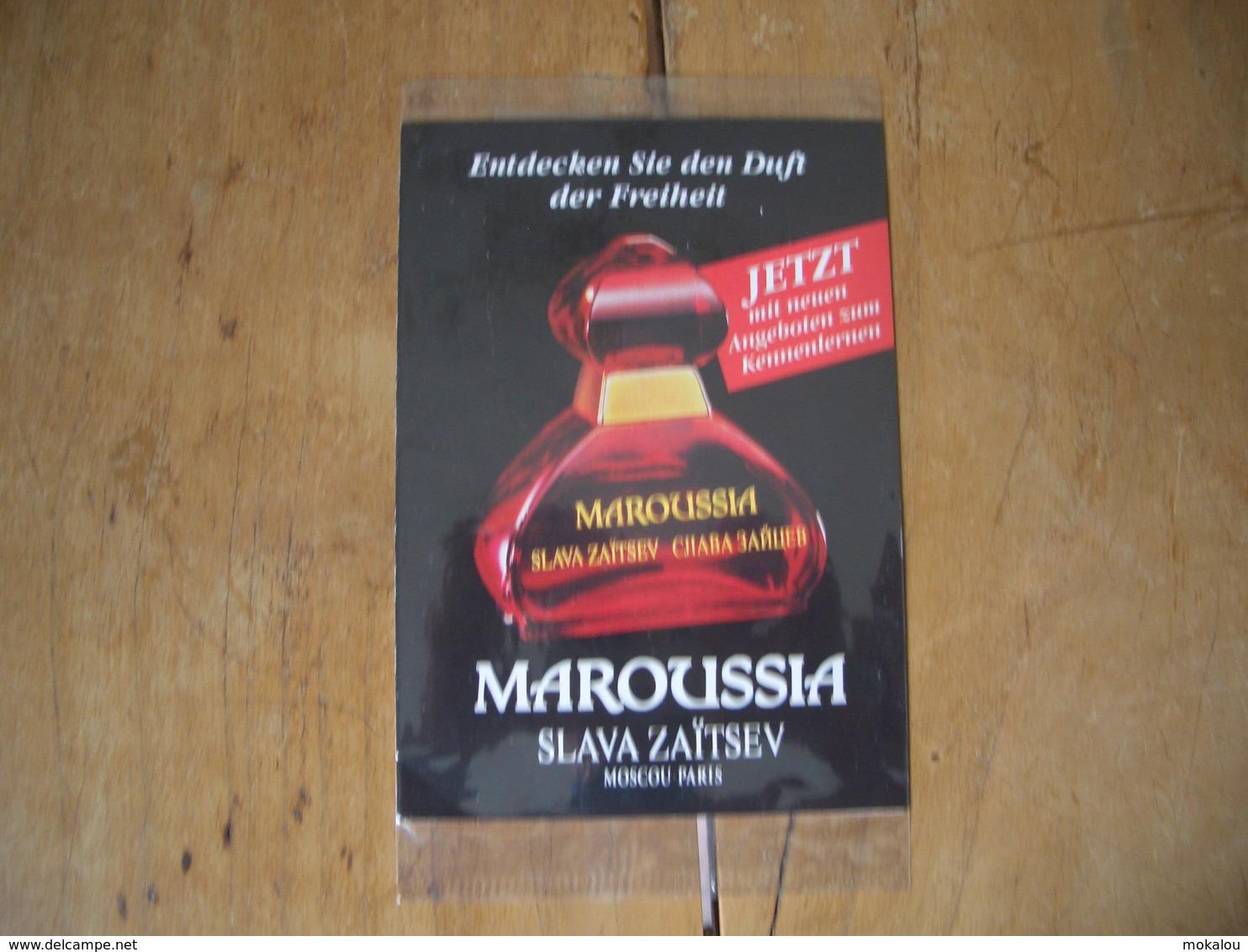 Carte Slava Zaitsev Maroussia S/cello* - Perfume Cards