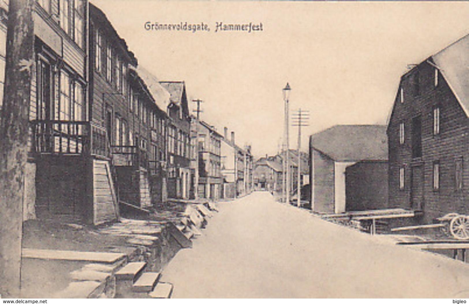 Hammerfest - Grönnevoldsgate    (A-72-170710) - Norwegen
