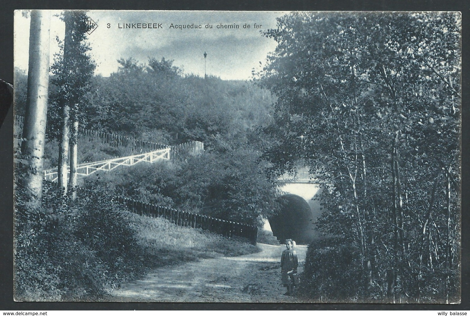 +++ CPA - LINKEBEEK - Acqueduc Du Chemin De Fer - SBP - Cachet Relais    // - Linkebeek