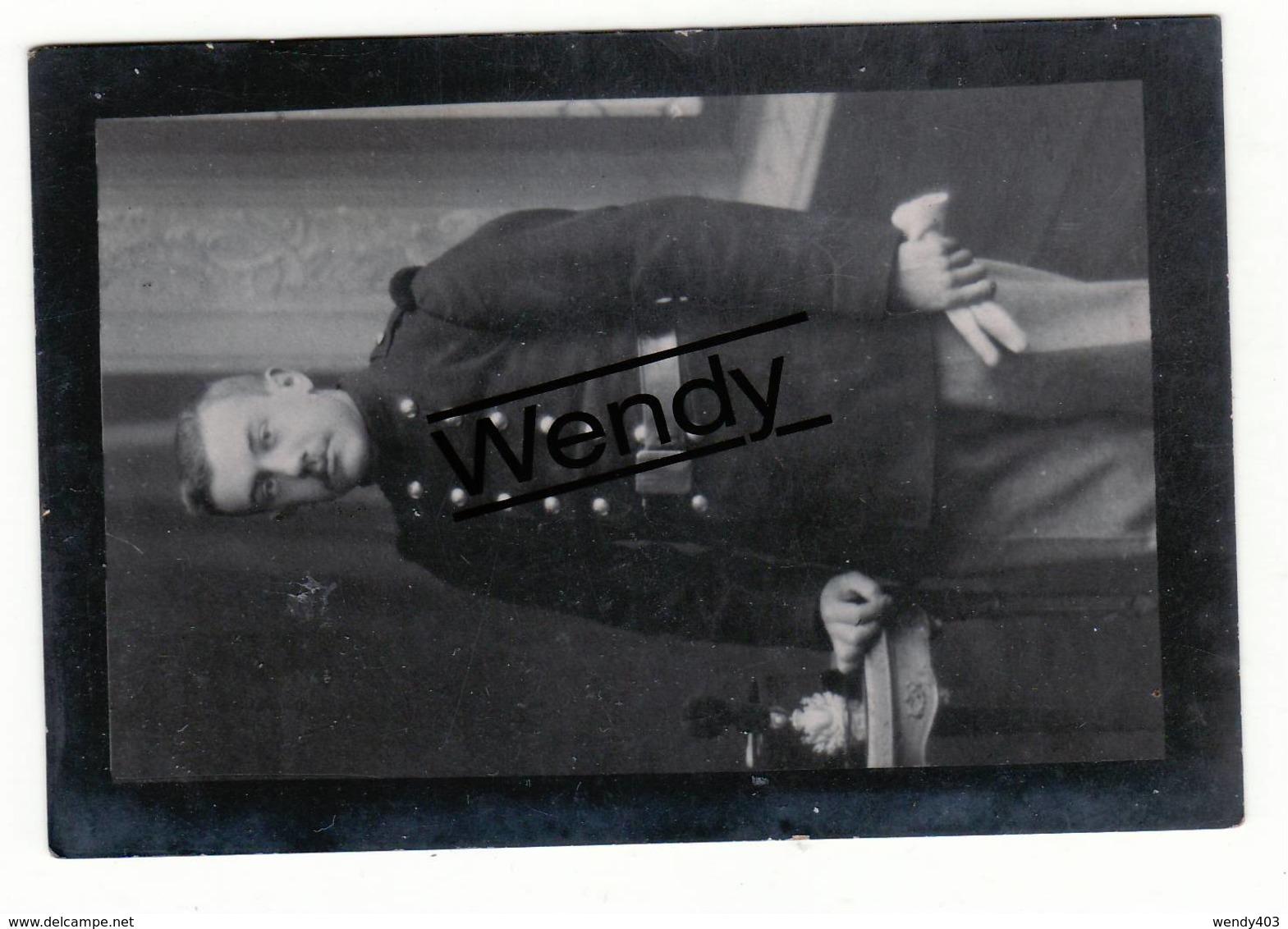 Hubert Van Reysschoot   °Gentbrugge 1891   +gevallen Op Het Slagveld Van Weerde 26/8/1914 - Devotieprenten
