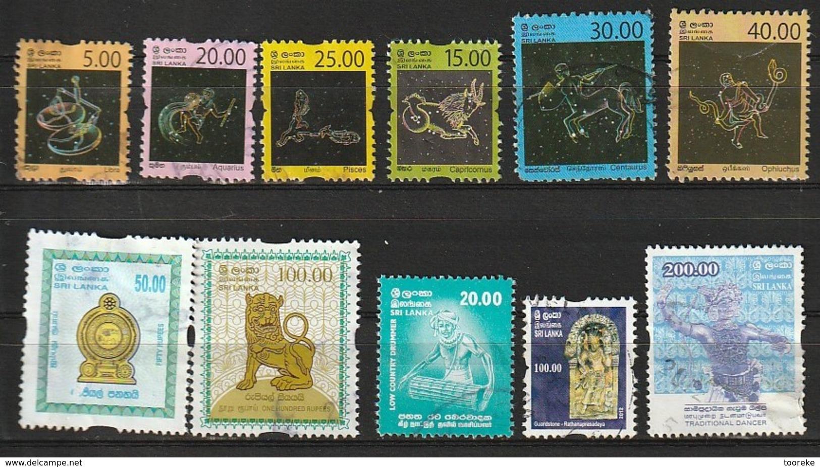 Lotje Sri Lanka 11 Pcs - Sri Lanka (Ceylan) (1948-...)
