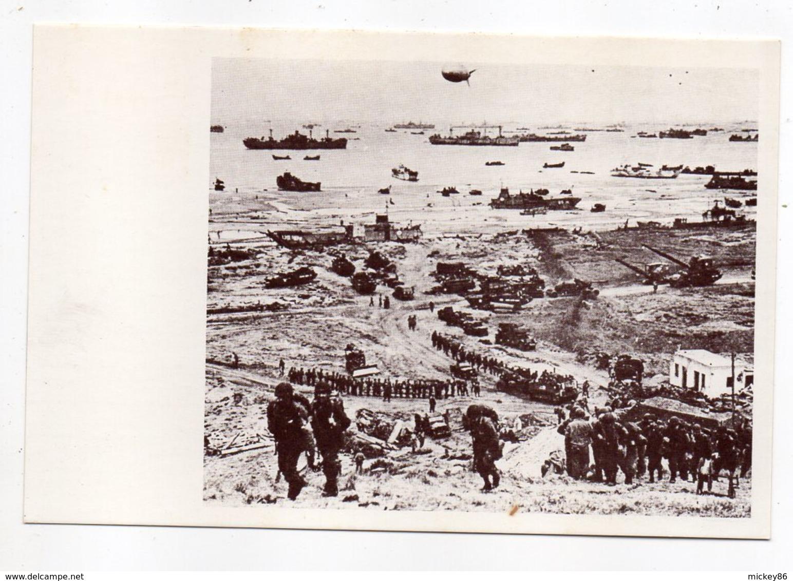 Histoire -- Débarquement En Normandie Et La Bataille De Normandie -ARROMANCHES --14 .....à Saisir - Histoire