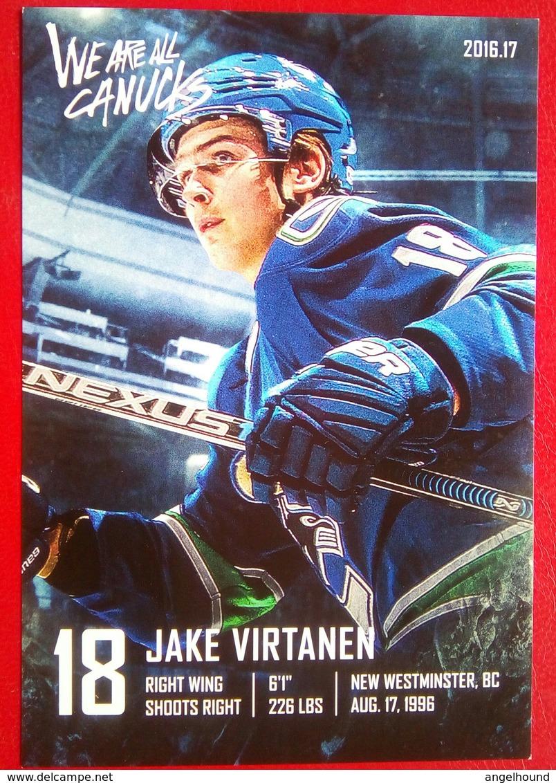 Vancouver  Jake Virtanen - Singles