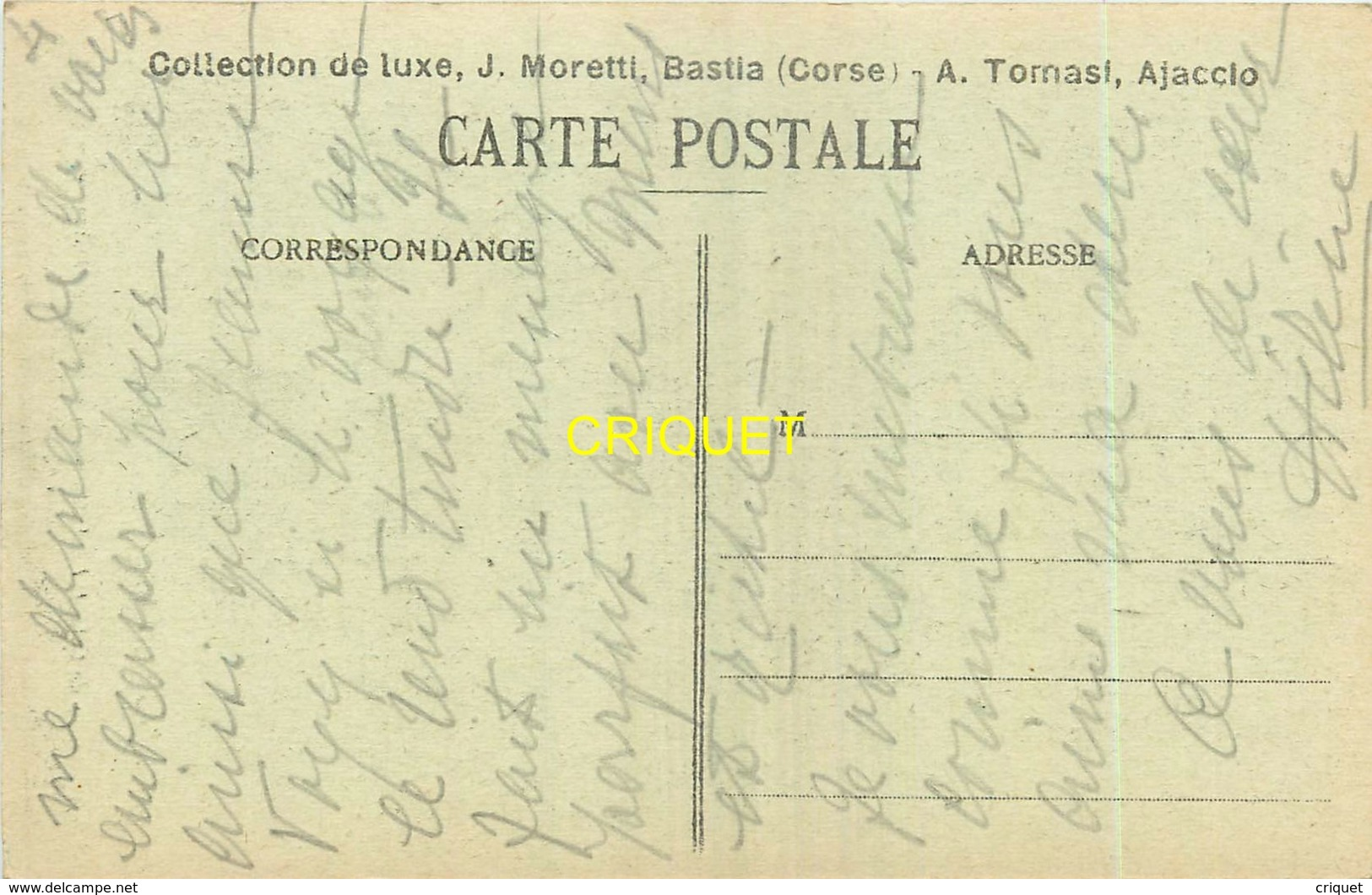 Corse, Moulin De Calasima, Homme Sur La Passerelle...., éd Moretti - France