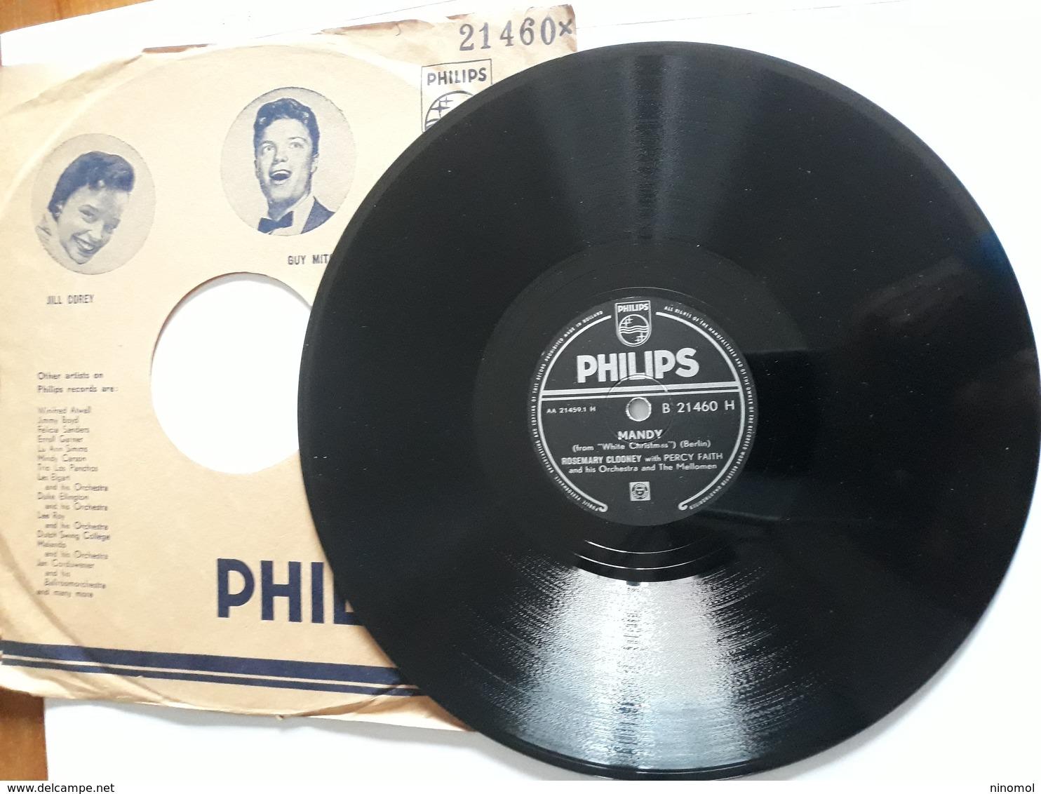 Philips  -  Nr. B 21460 H -  Mandy - 78 G - Dischi Per Fonografi
