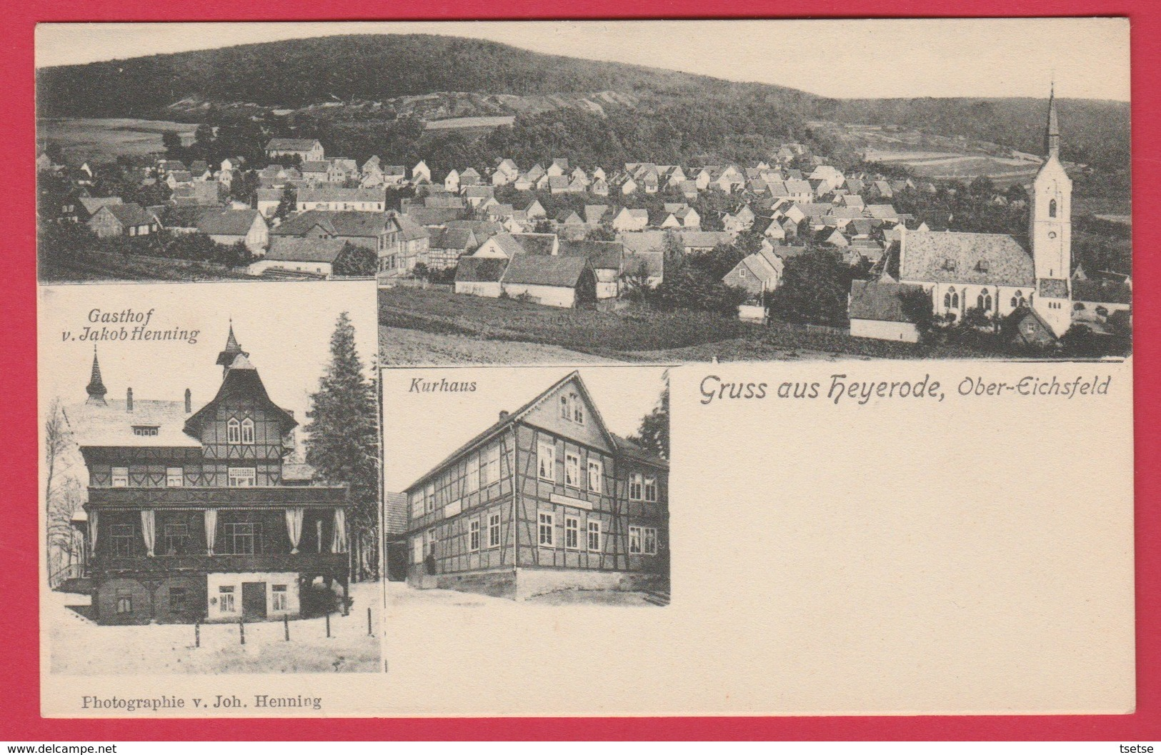 Gruss Aus Heyerode , Ober-Eichsfeld ( Siehe Zurück ) - Germany