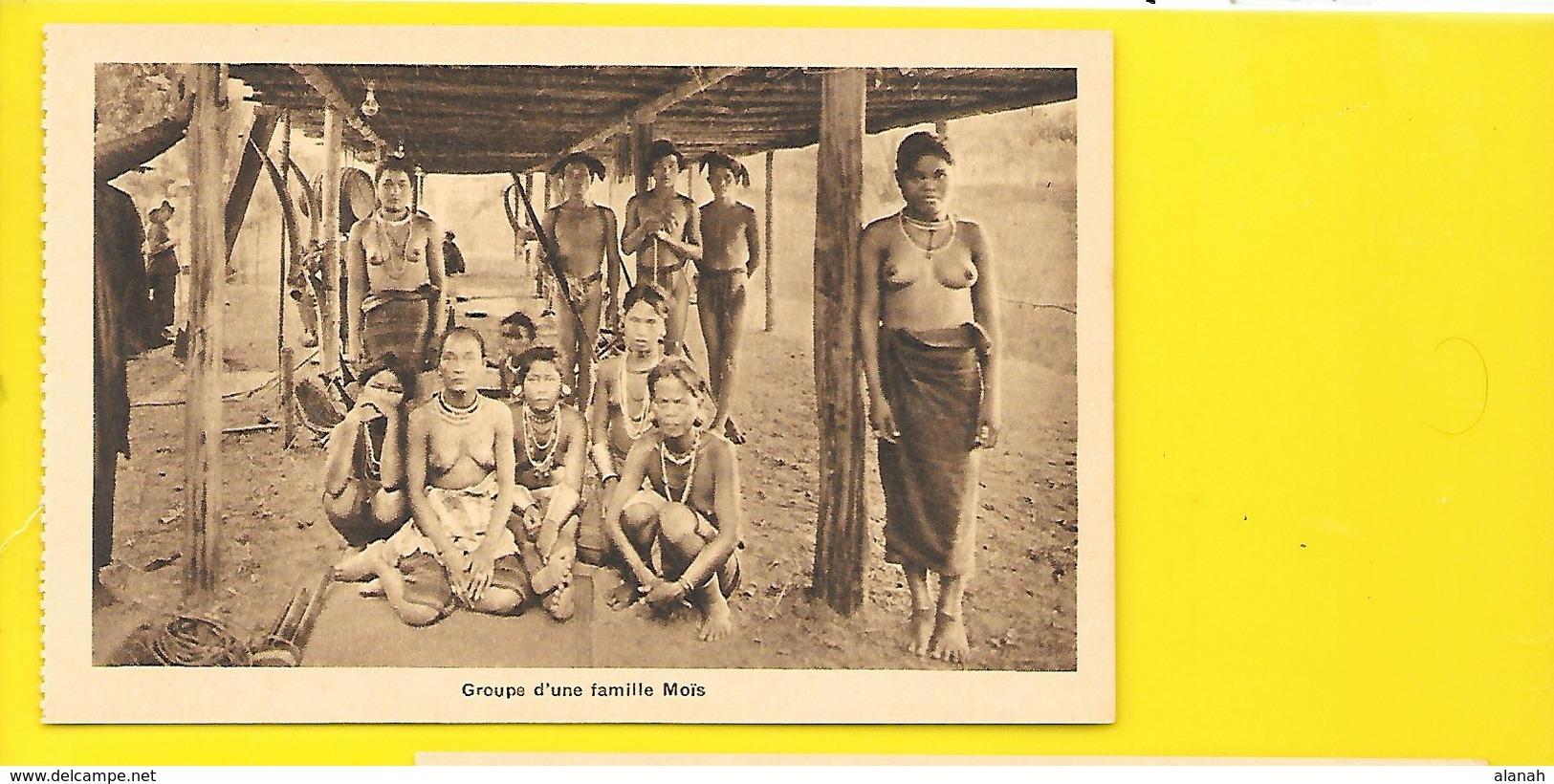 Famille Moïs. Jeunes Femmes Aux Seins Nus (Nadal) Viet Nam - Vietnam