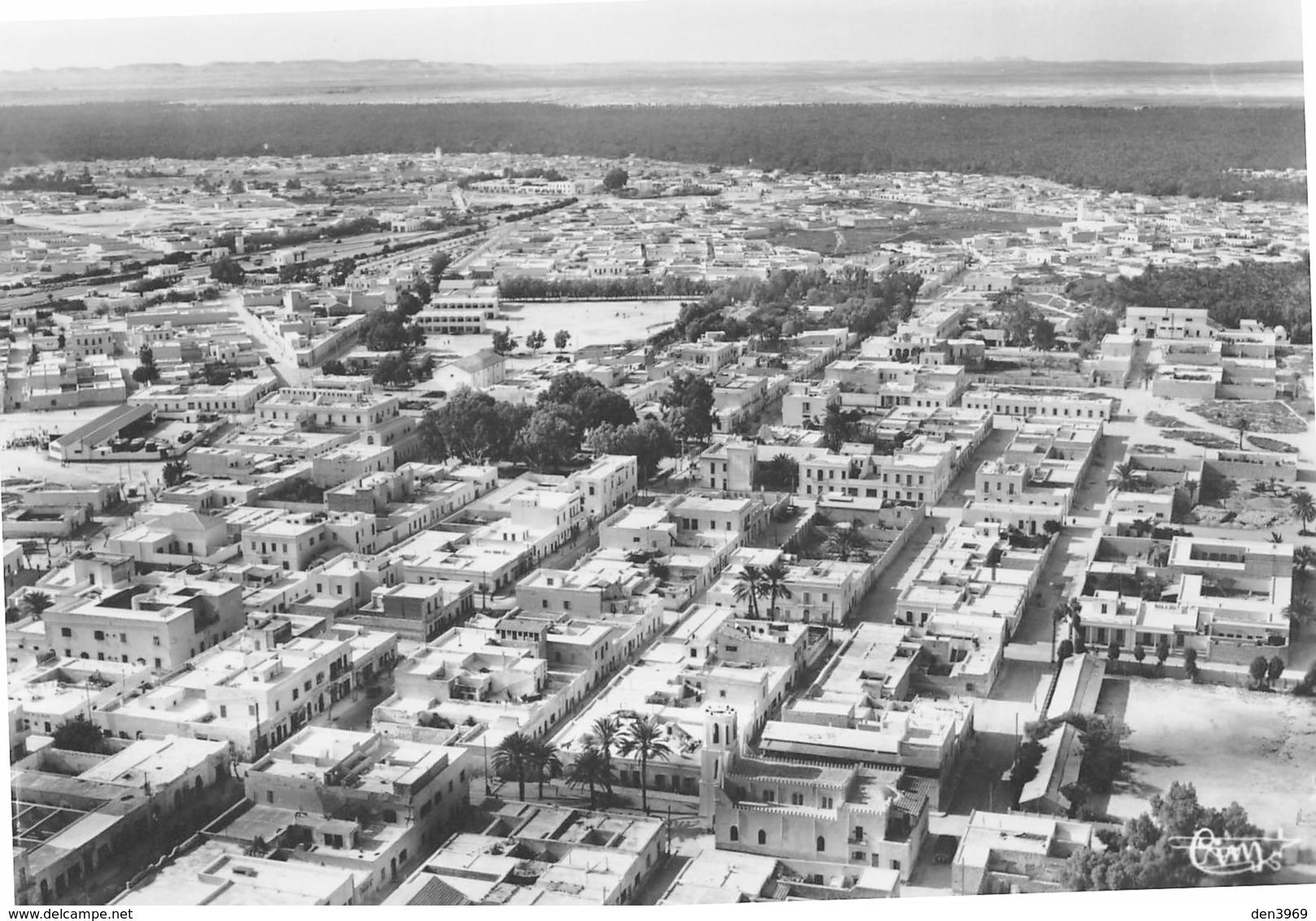 Tunisie - GABES - Vue Panoramique Aérienne - L'Eglise Armand Fallières - Collection Frendo - Tunesien