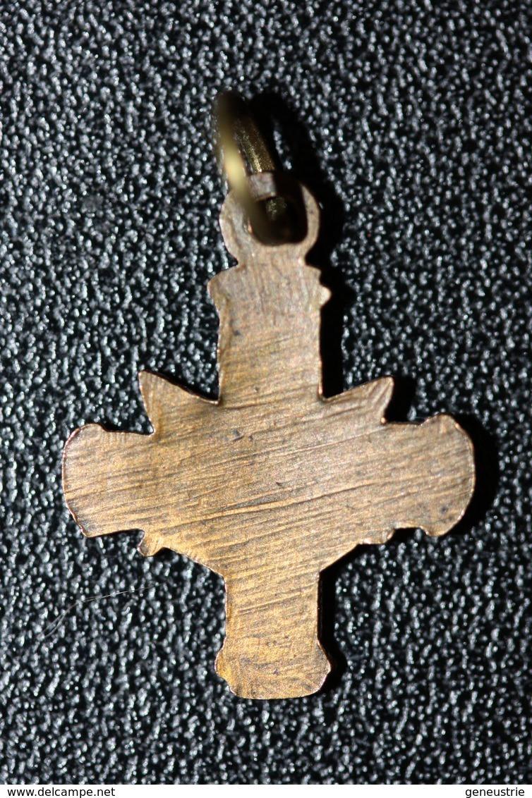 """WWI Petite Médaille Pendentif De Poilu Polonais 1914-1918 """"Croix Avec Aigle"""" WW1 - 1914-18"""