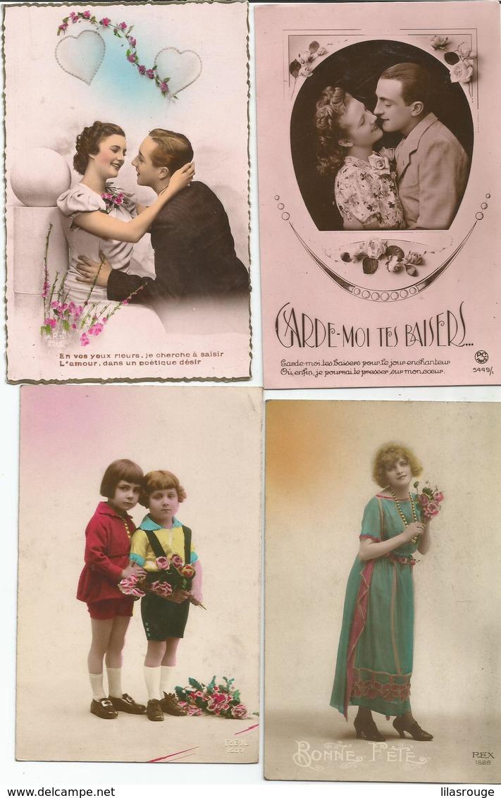 LOT 15 CARTES - Cartes Postales