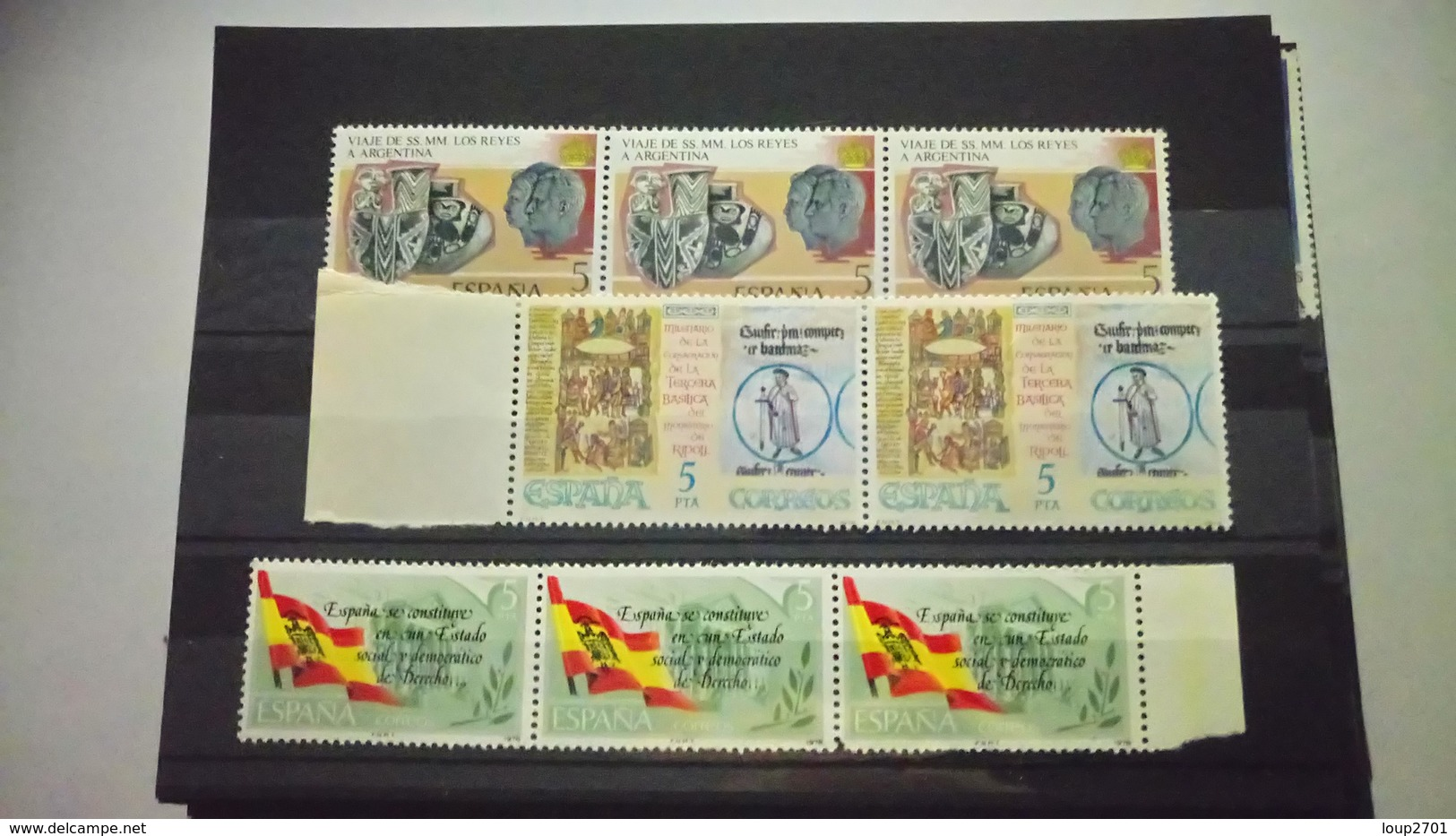P102 LOT 68 PLAQUETTES TIMBRES MONDE NEUFS / OB  A TRIER COTE++ DÉPART 10€ - Francobolli