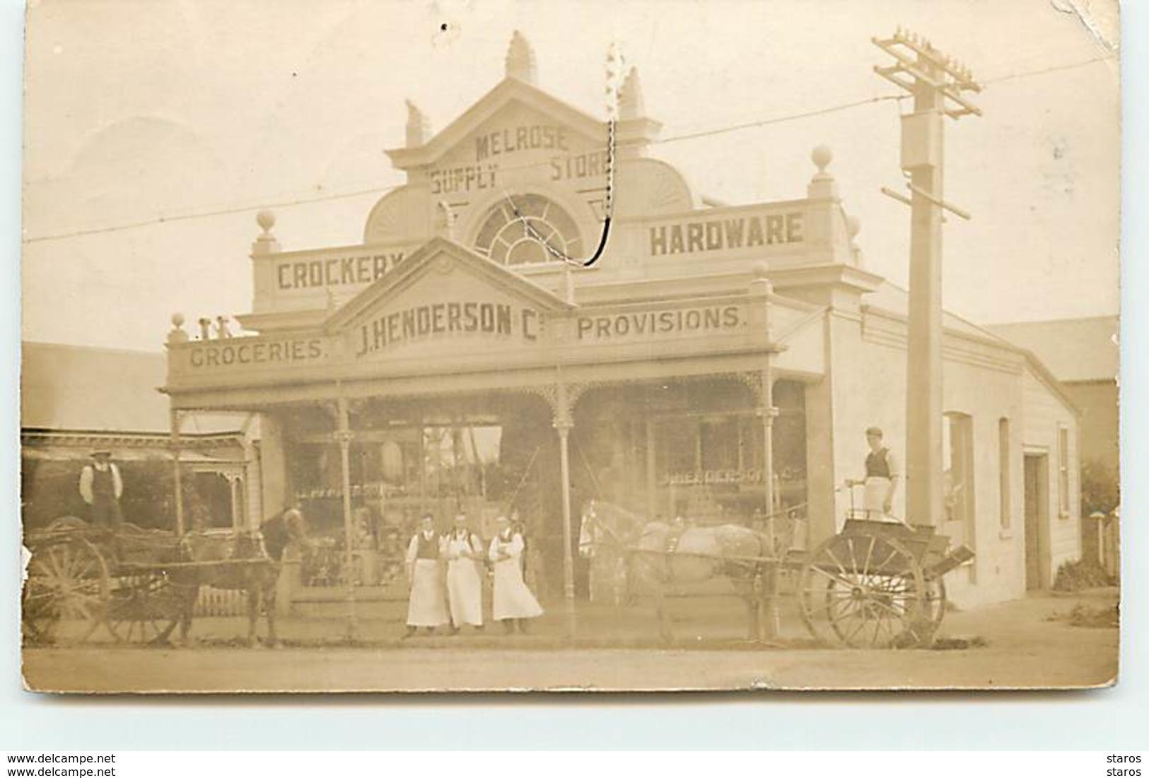 MELROSE - Simply Store - J. Henserson - Croceries, Provisions - RPPC - Nouvelle-Zélande