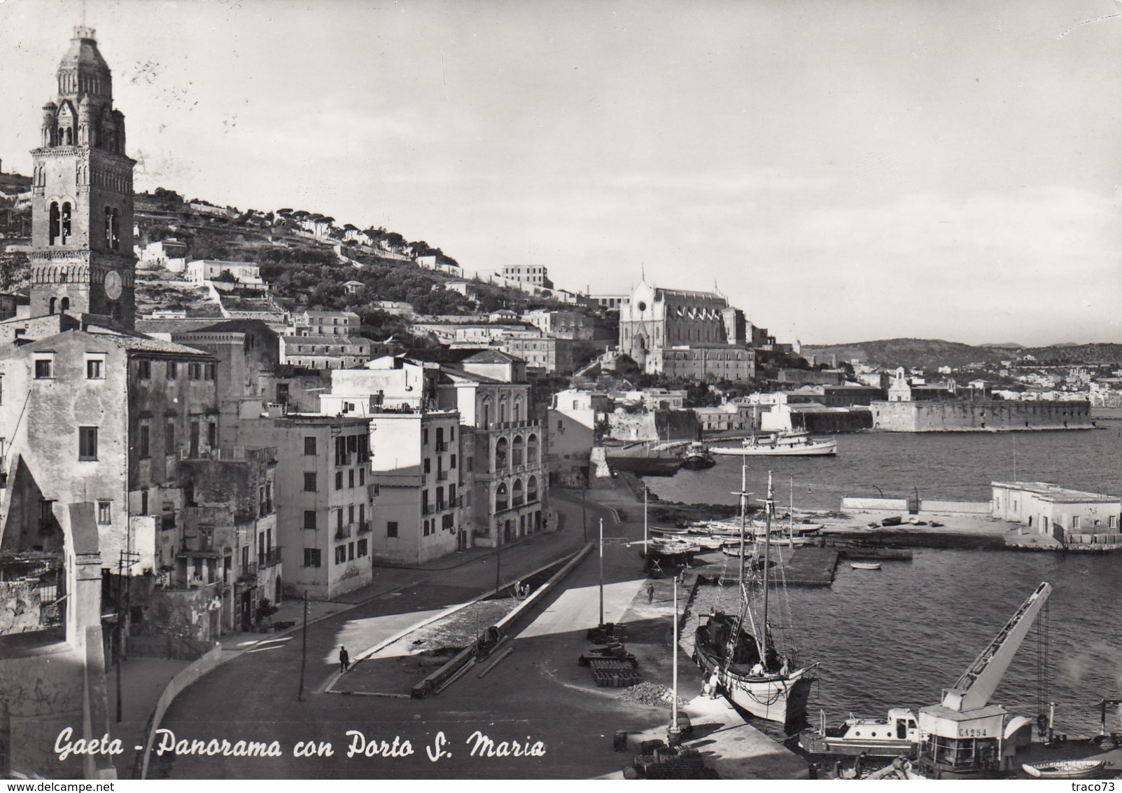 GAETA  /  Panorama Con Porto S. Maria _ Viaggiata - Latina