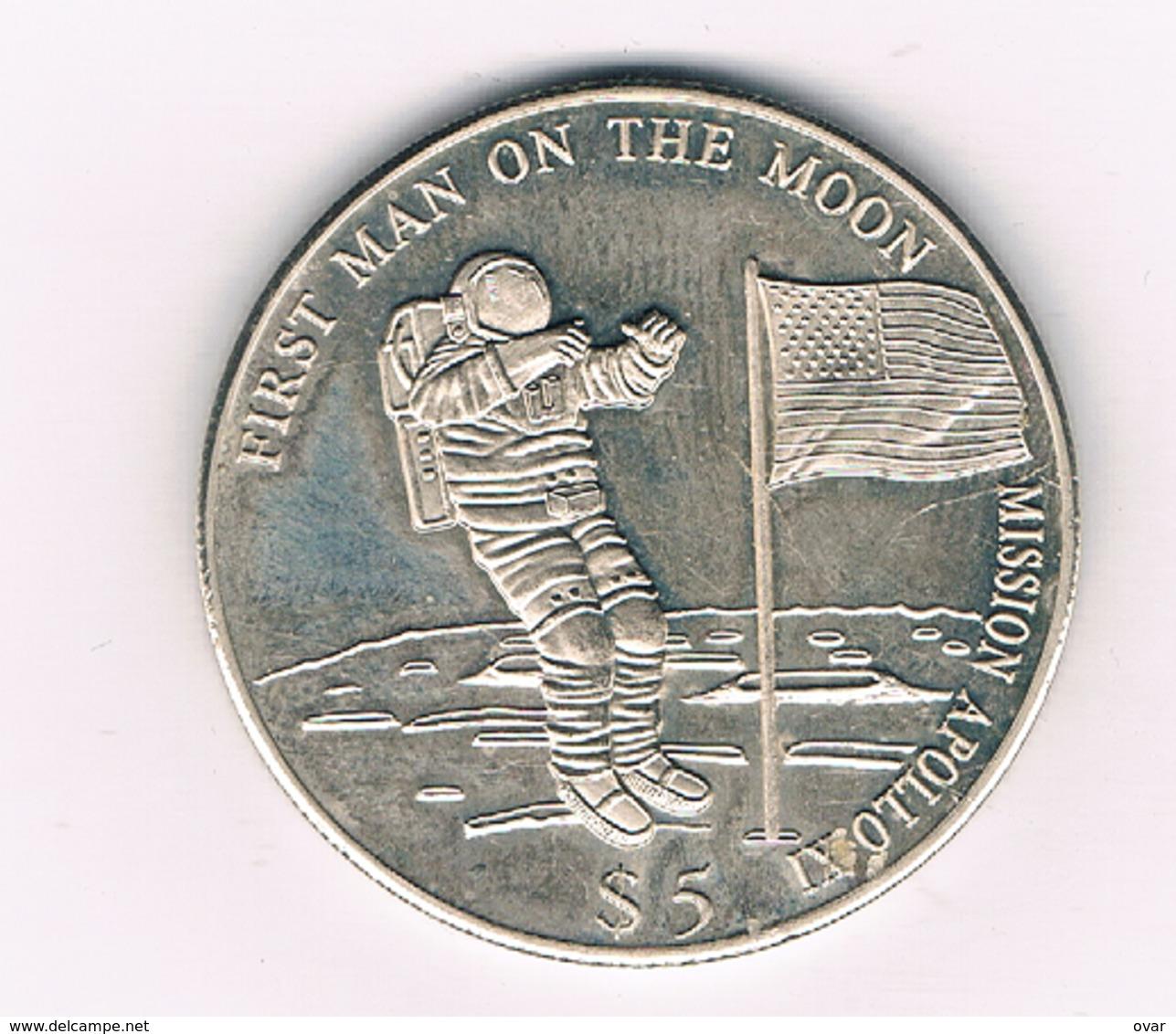 5 DOLLAR 2000 LIBERIA /4240/ - Liberia