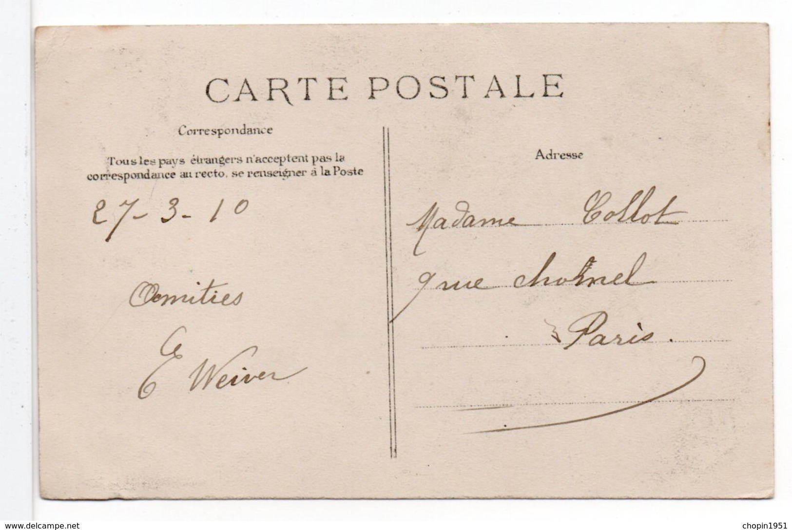 CPA - JOIGNY - L'INONDATION DU 22 JANVIER 1910 - Joigny