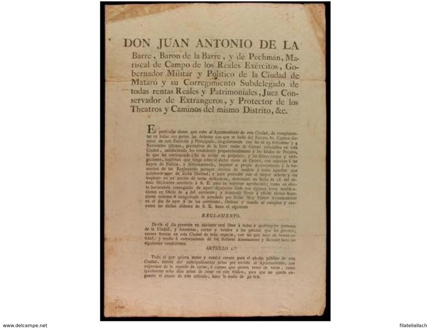 SPAIN. OLD DOCUMENTS - España