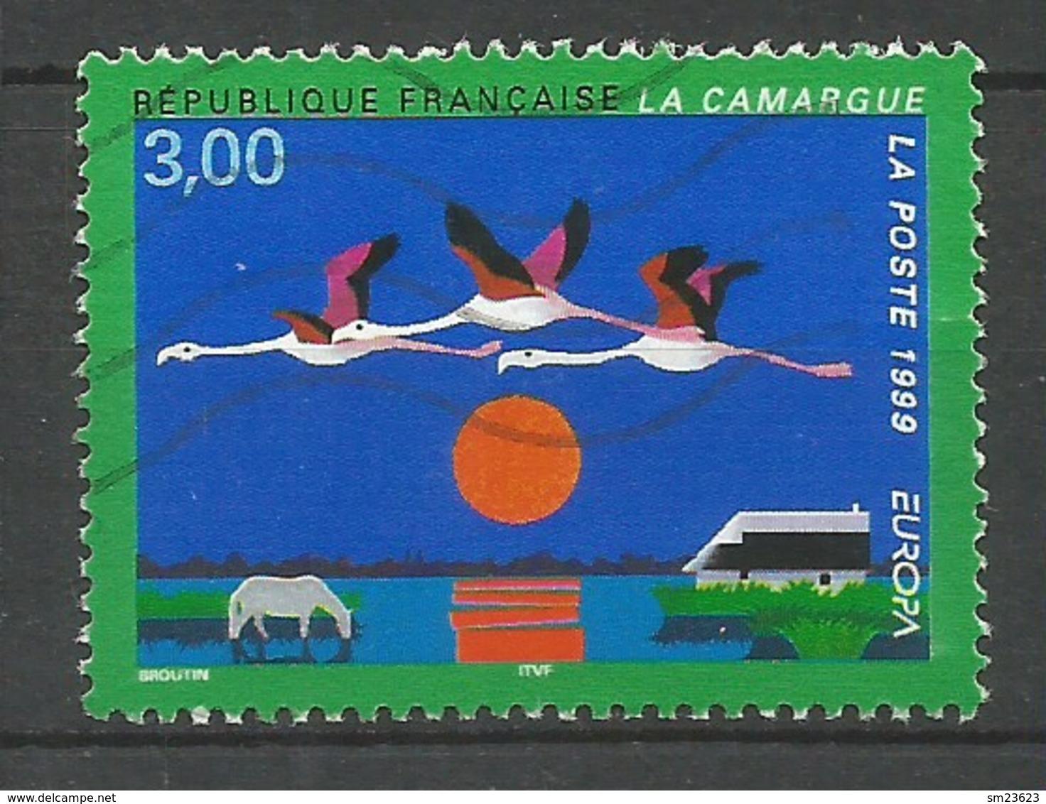 Frankreich  1999  Mi.Nr. 3382 , EUROPA CEPT - Natur- Und Nationalparks - Gestempelt / Fine Used / (o) - Europa-CEPT