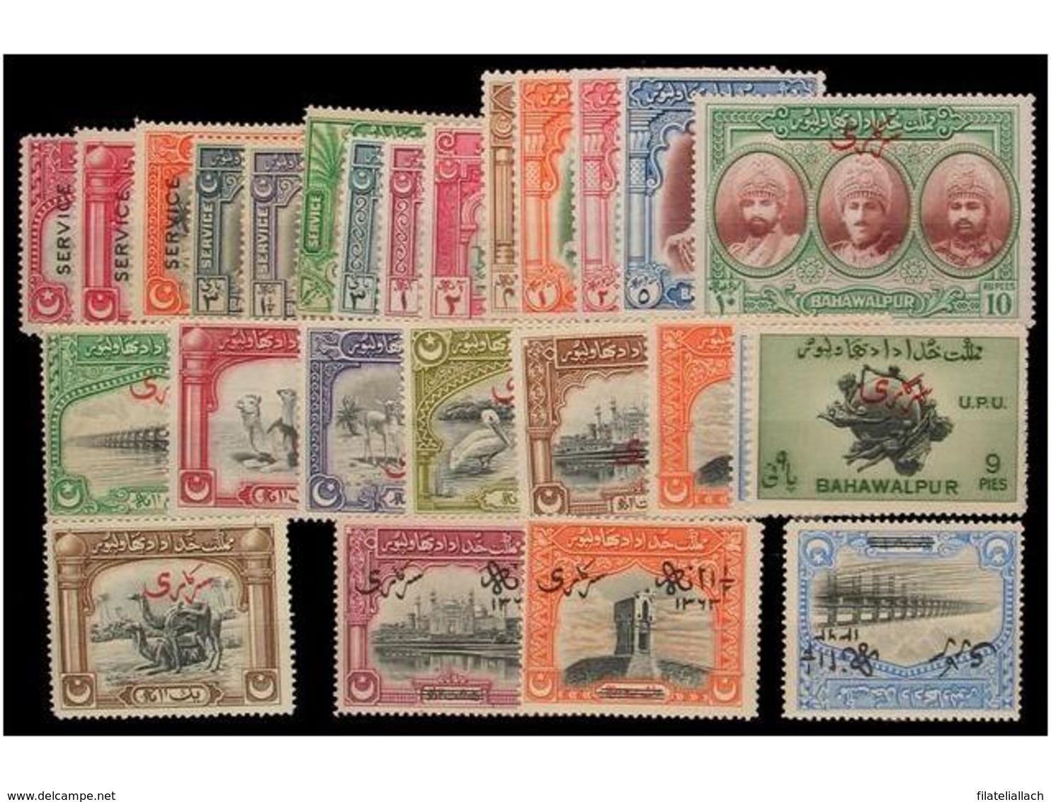 INDIAN STATES: BAHAWALPUR - India (...-1947)