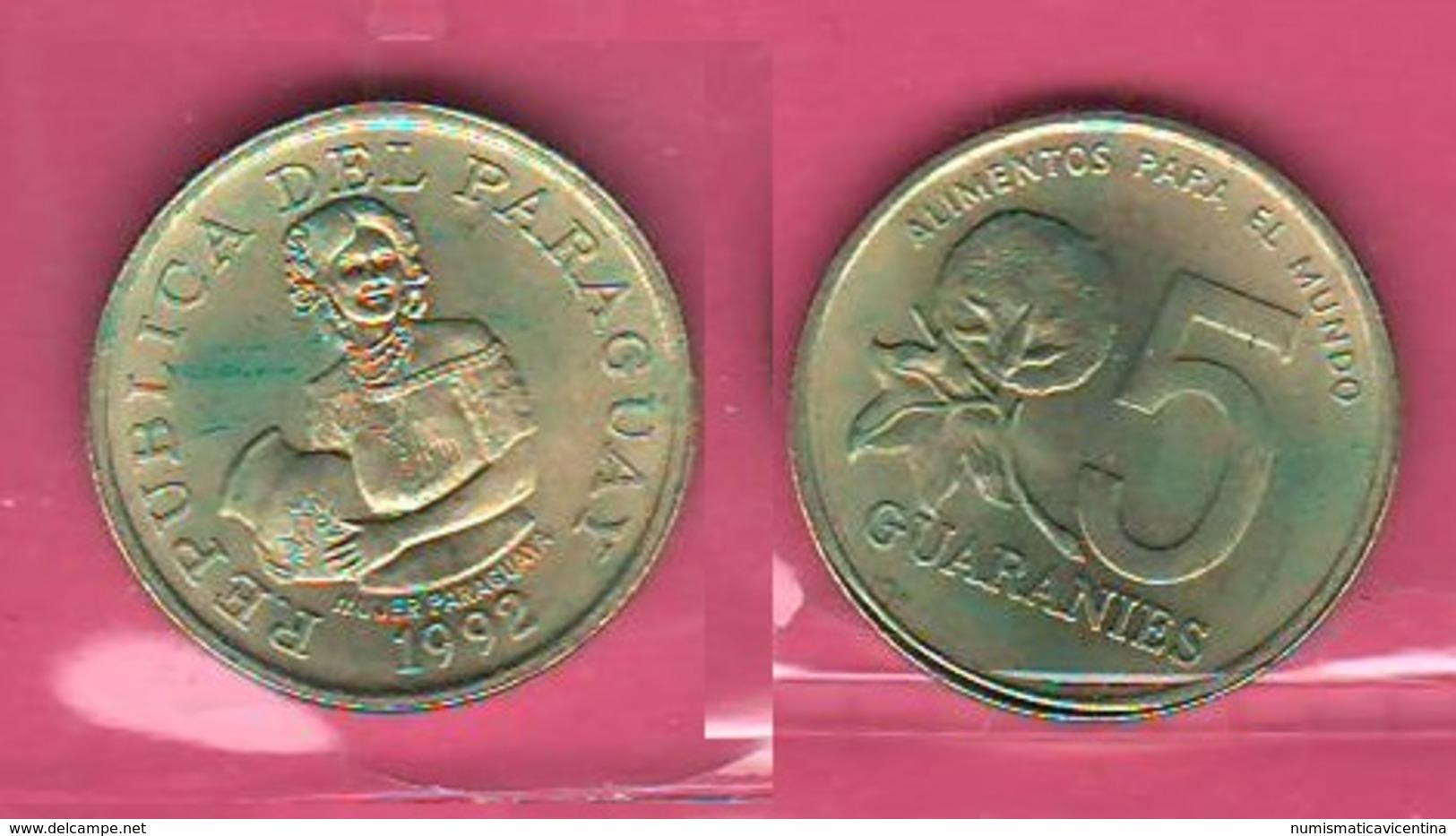 5 Guarani 1992 FAO Paraguay - Paraguay