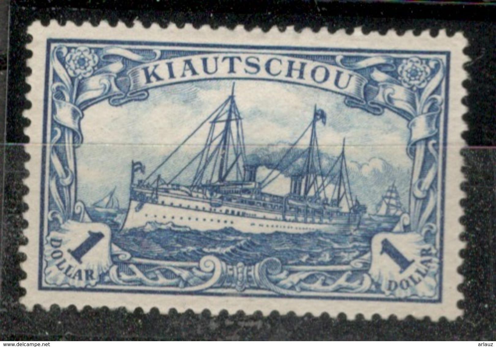 KIAUTSCHOU.CHINE.COLONIE ALLEMANDE.1905.MICHEL N°25B.NEUF.19E19 - Colonie: Kiautchou