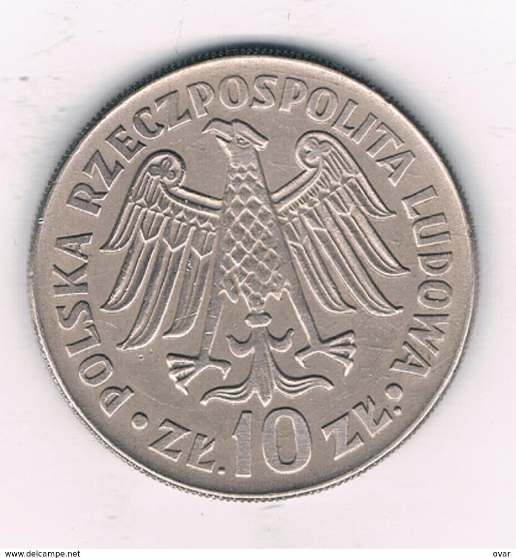 10 ZLOTY 1964  POLEN /4249/ - Poland