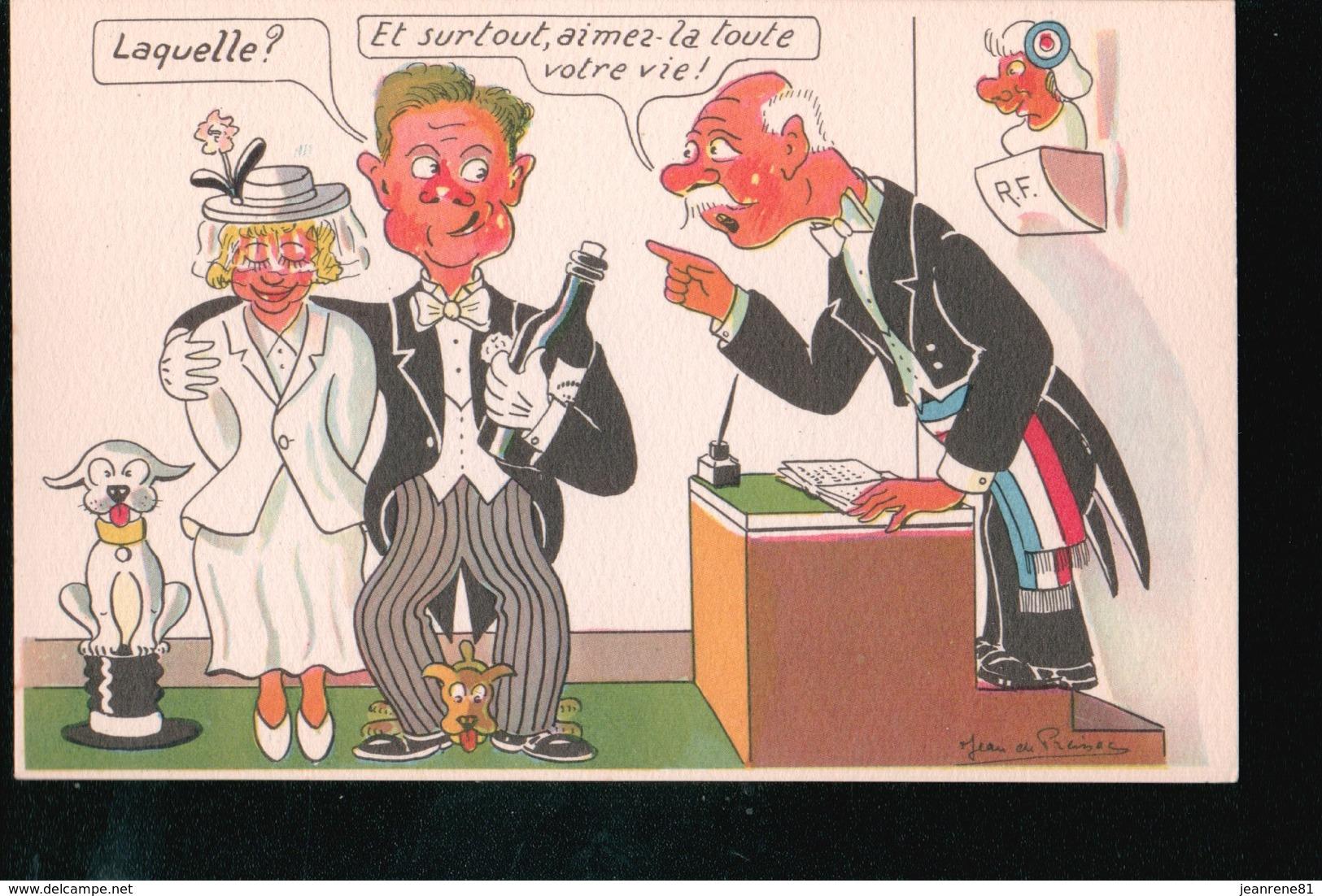 LOT094.....15 CPA HUMOUR JEAN DE PREISSAC - Cartes Postales