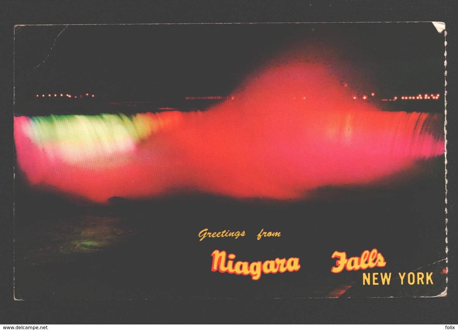 New York - Greetings From Niagara Falls - NY - New York