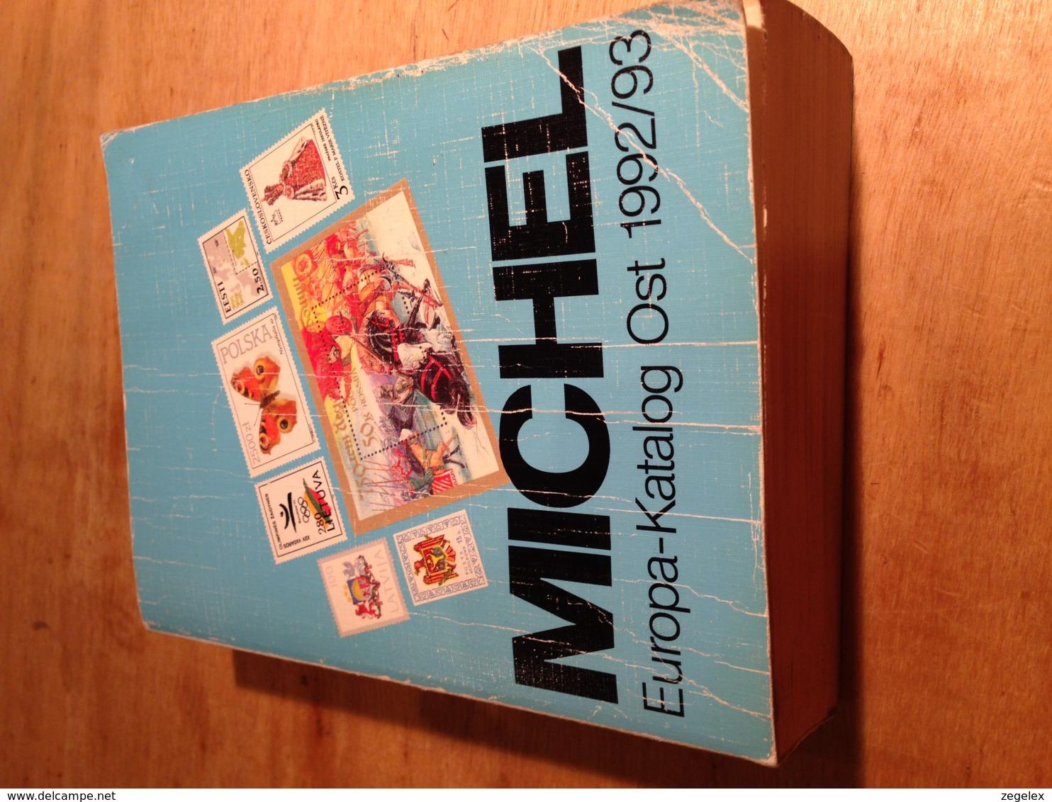 MICHEL-Europa-Katalog OST.  1992/1993 - Postzegelcatalogus