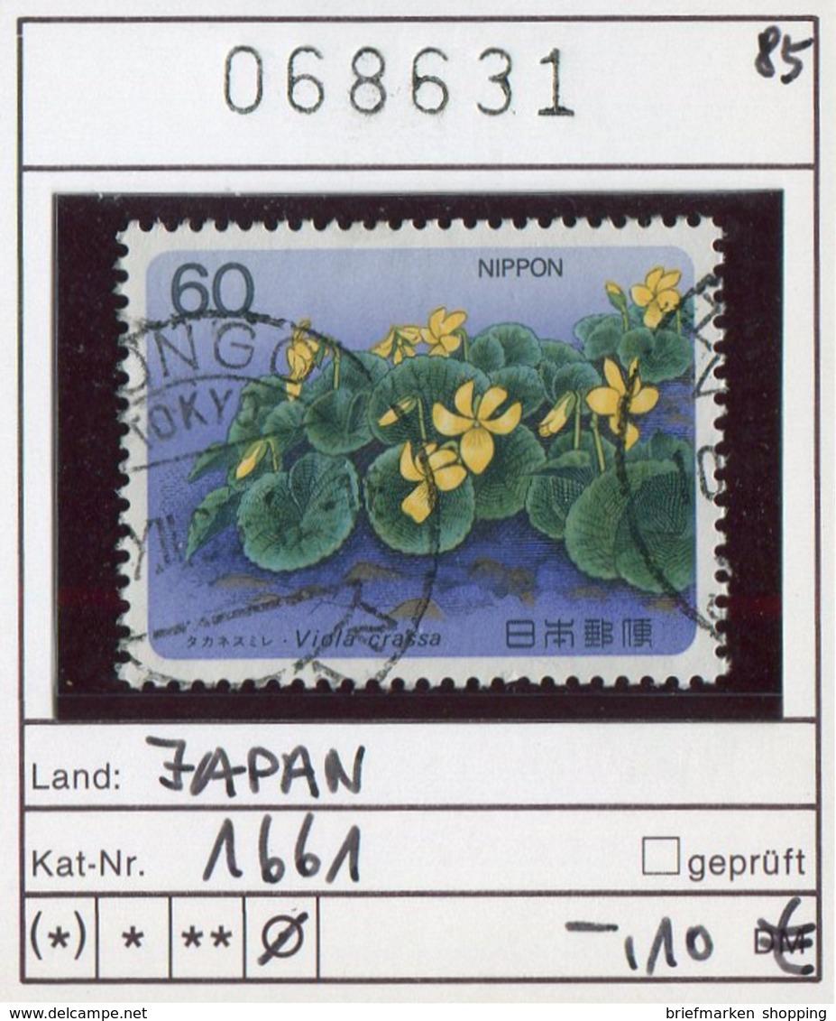 Japan - Japon - Nippon - Michel 1661   - Oo Oblit. Used Gebruikt - 1926-89 Emperor Hirohito (Showa Era)