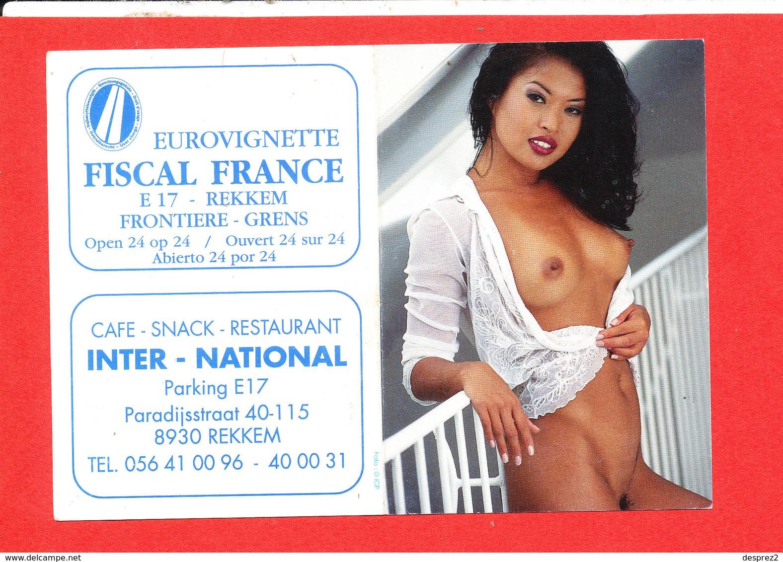 Calendrier Femme NU De 2007 * Format 14.5 Cm X 10.5 Cm - Erotiques (…-1960)