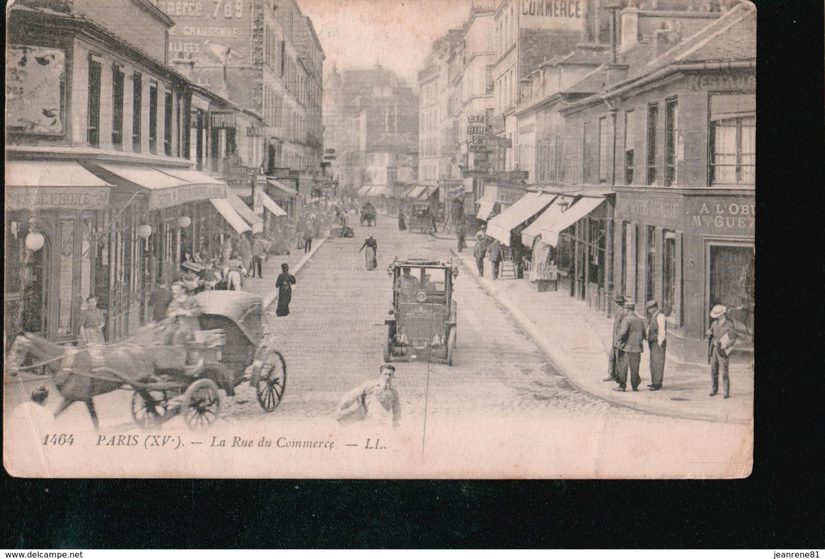 LOT105.....18 CPA PARIS - Cartes Postales