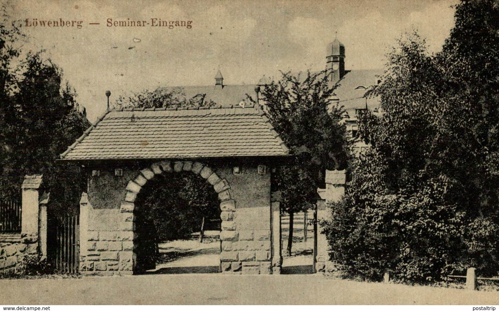 LOWENBERG SEMINAR EINGANG - Schlesien