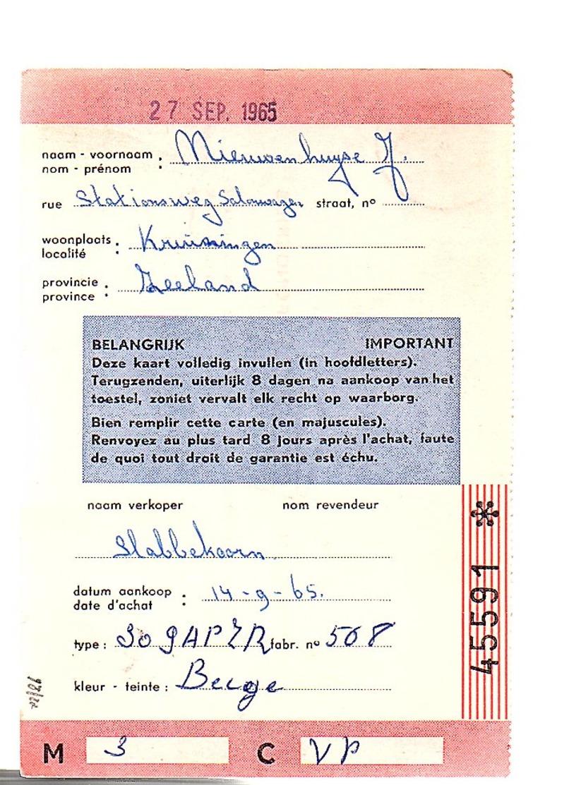 1965 Strafport Terneuzen > Gieterijen Volvorde Fonderies Peeters Leuvense Steenweg 250  (EV-36) - Periodo 1949 – 1980 (Juliana)