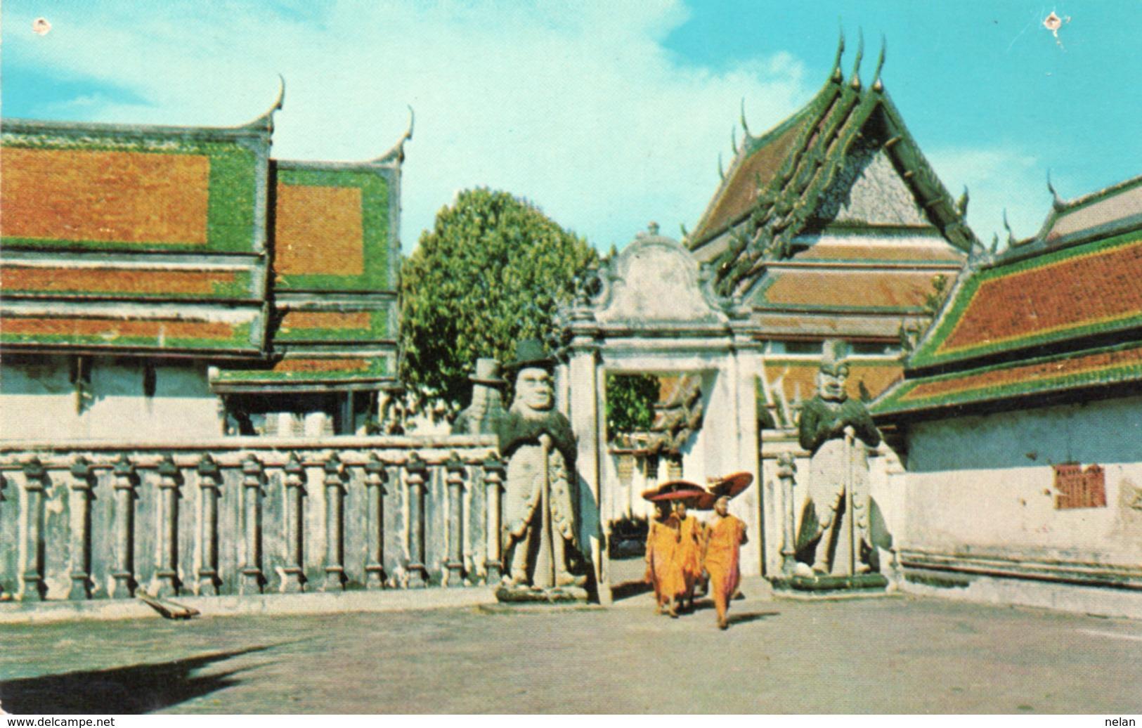 WAT PHO-BANGKOK-THAILAND-NON VIAGGIATA - Tailandia