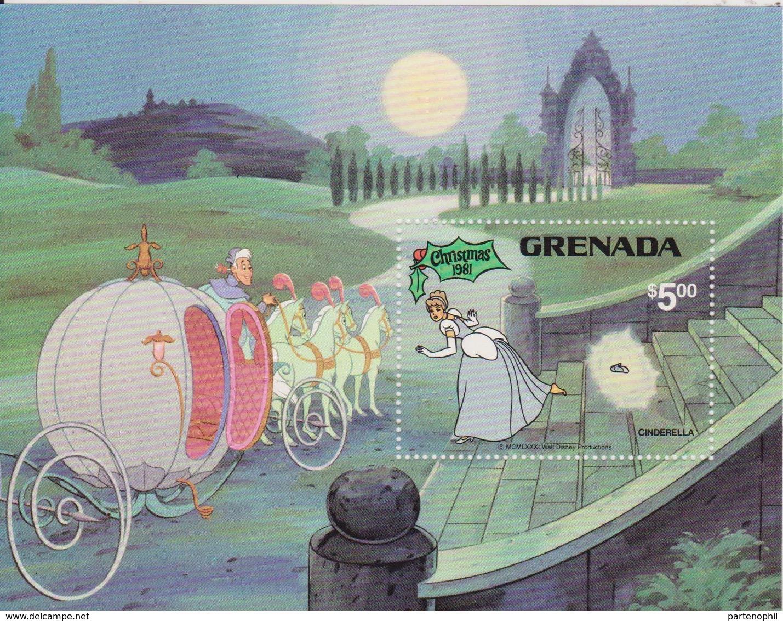 Grenada 1981 Disney Christmas Set MNH - Disney
