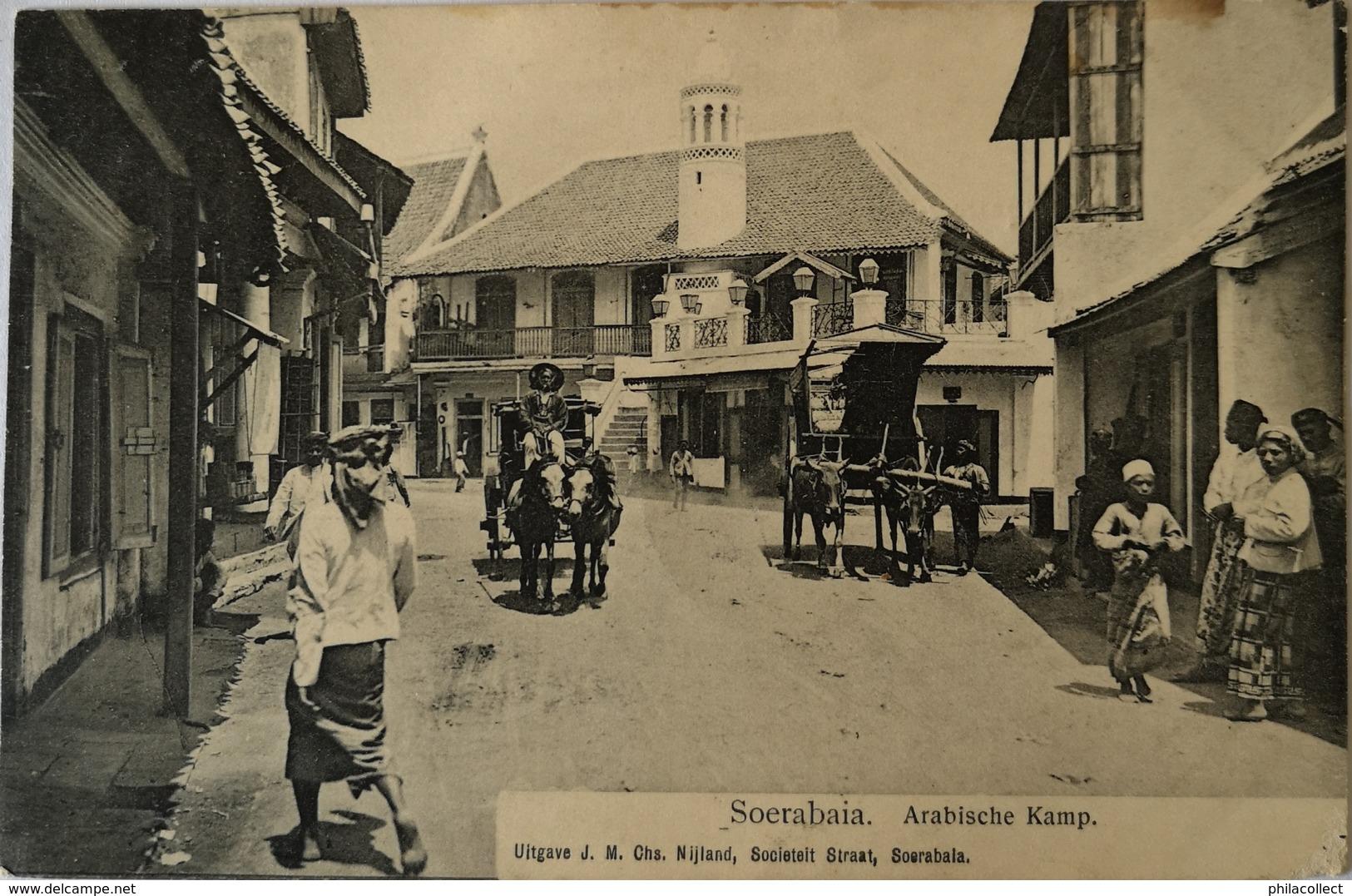Ned. Indie - Indonesia / Soerabaja // Arabische Kamp 1911 - Indonesië