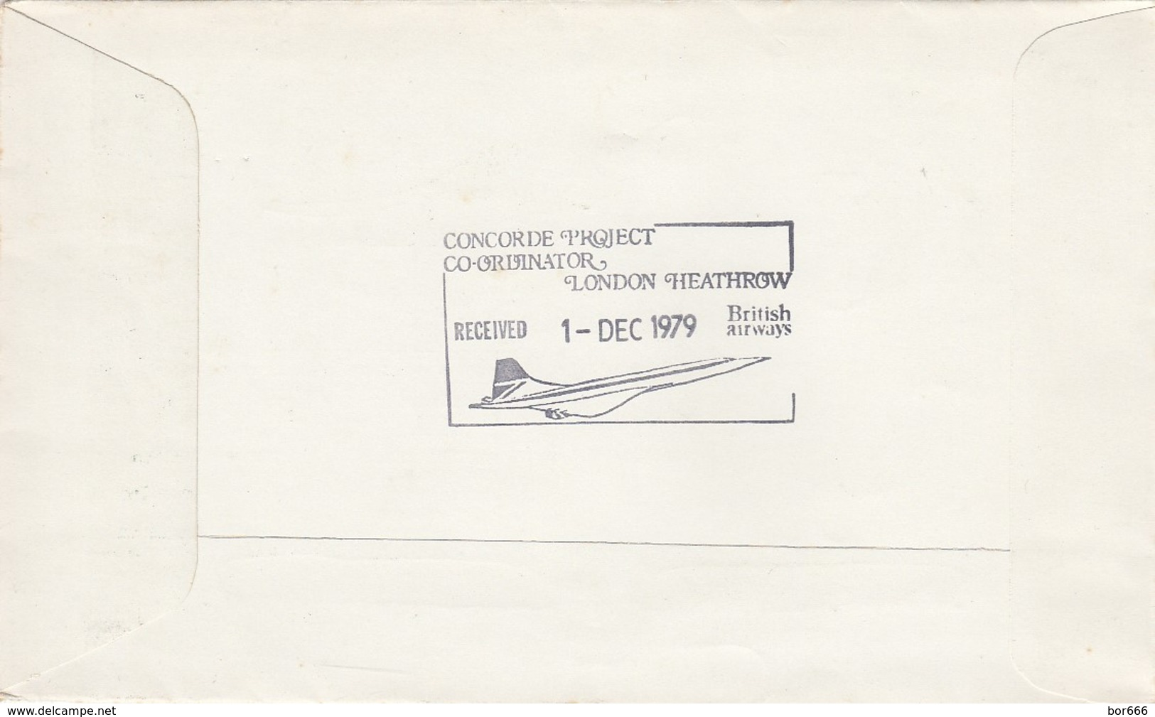 GOOD JERSEY Special Stamped Cover 1979 - Air Transport Auxiliary / Concorde - Jersey