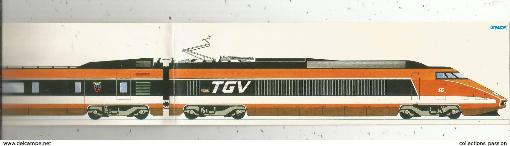 Autocollant ,  SNCF ,  TGV ,  400 X 60 Mm , 2 Scans ,  Frais Fr 1.55 E - Autocollants