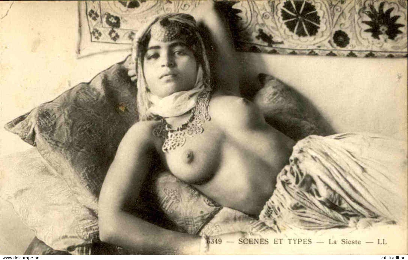 EROTISME - Carte Postale - Scènes Et Types - La Sieste - L 29832 - Beauté Féminine D'autrefois < 1920