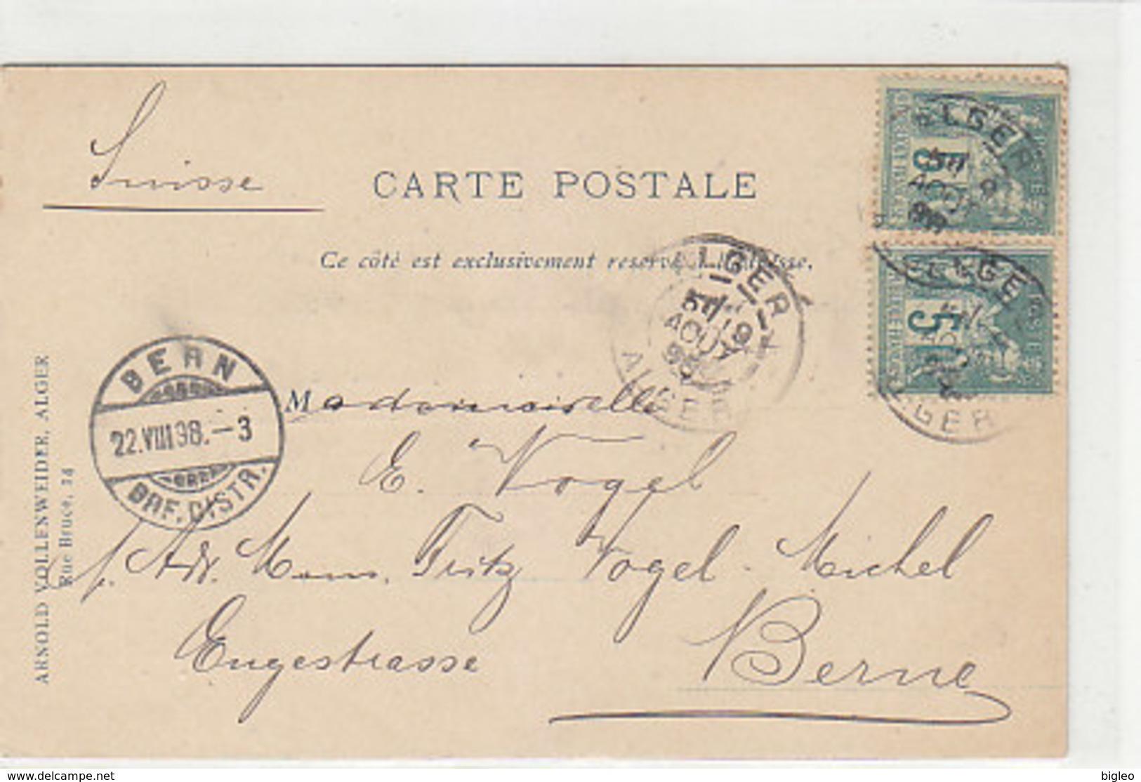 Alger - Karte Eines Ansichtskartensammlers 1898 !!    (A-74-160126) - Algeria