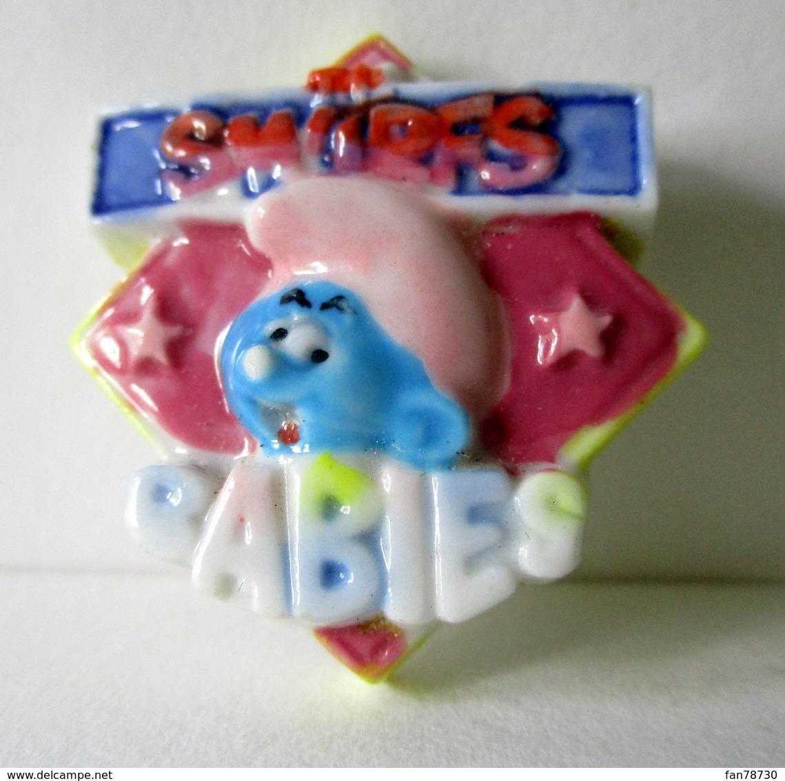 Fève Brillante - Baby Schtroumpf - Smurfs Babies - Peyo 98 - Personnages