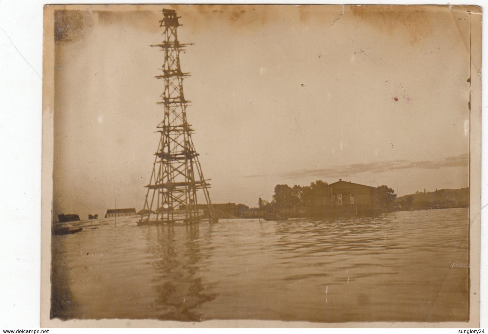 UKRAINE. # 2076 A PHOTO. KIEV. HARBOR. 1930. - Proyectores De Cine